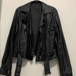 True Religion Vegan Leather Jacket
